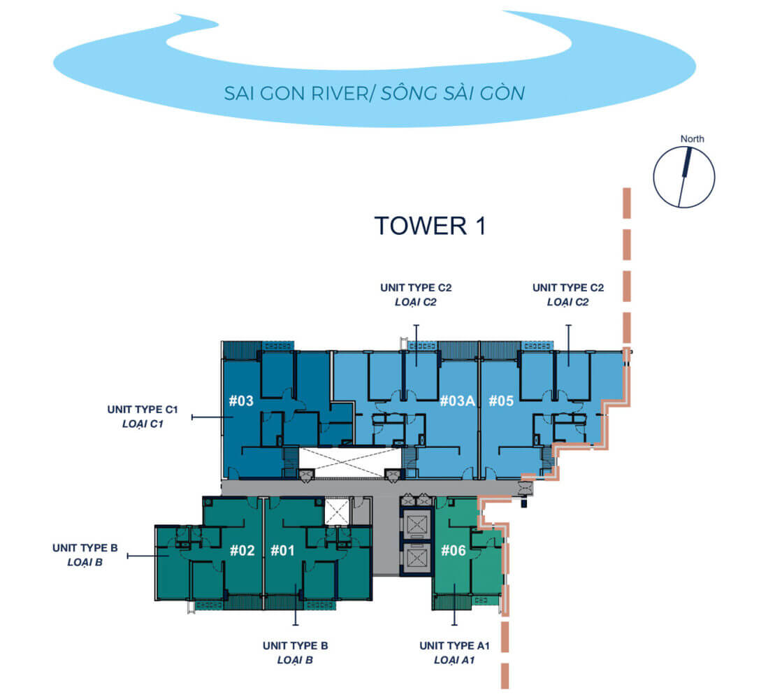 TOWER 1 - LEVEL 8-30