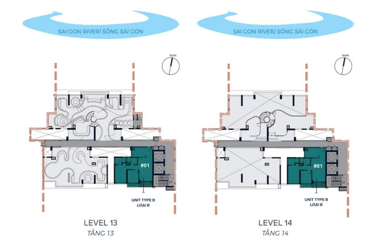 TOWER 2 - LEVEL 12A - 12B