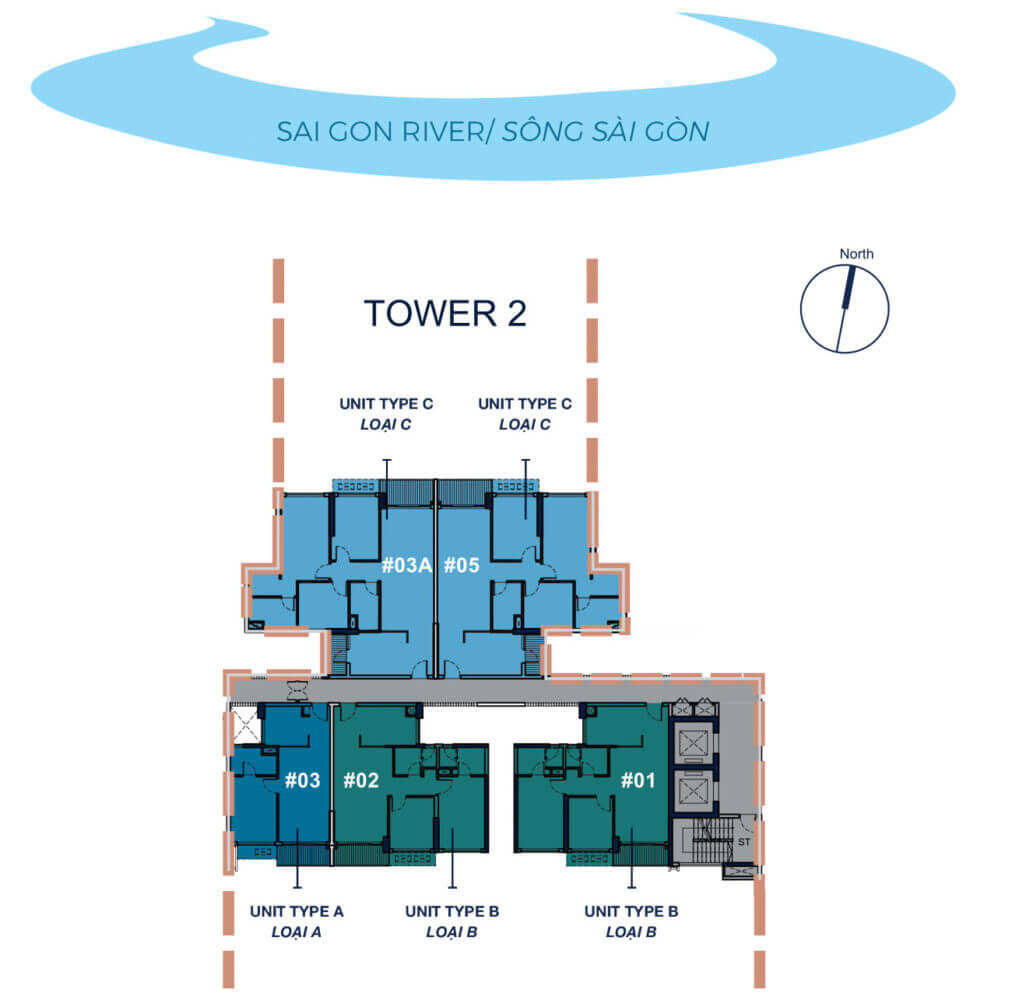TOWER 2 - LEVEL 8-30